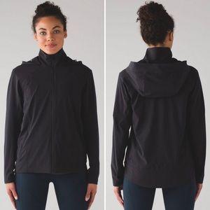 Lululemon Step To It Jacket Black Size 8 NWT